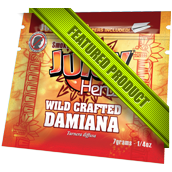 Wild Crafted Damiana Juicy Herb Pouch